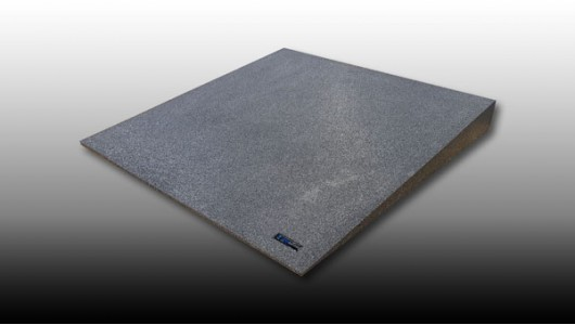 100mm High - Standard Threshold Ramp - WEDG1026